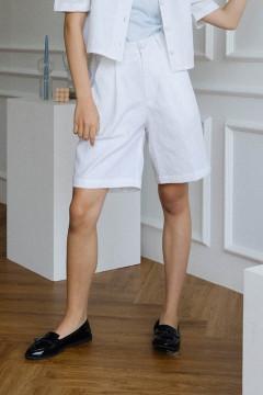 White Goma Short