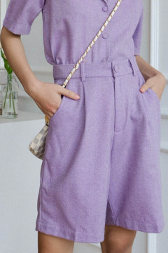 Lilac Goma Short