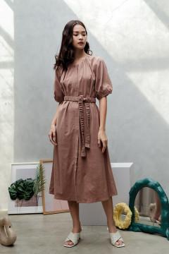 Caramel Jeong A Dress