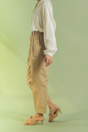 Khaky Da Hae Tapered Pants