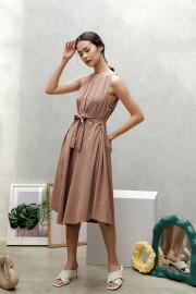 Caramel Na Eun Dress