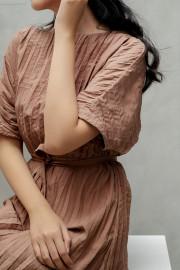 Caramel Hae Soo Dress