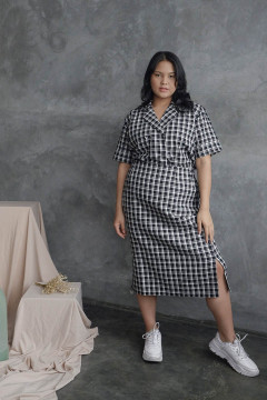 Checked Kelly Skirt