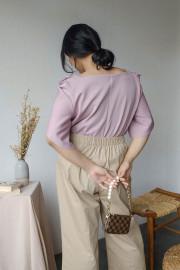Lilac Poula Top