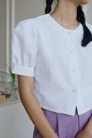 White Carola Top