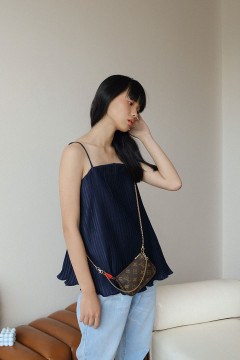 Navy Isabelle Tank