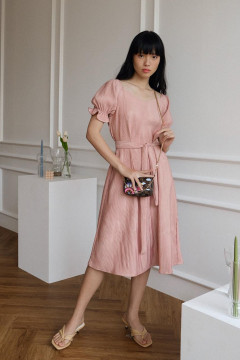Dusty Pink Chloe Dress