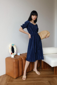 Navy Chloe Dress