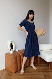 Navy Chloe Dress
