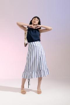 Stripes Elena Skirt