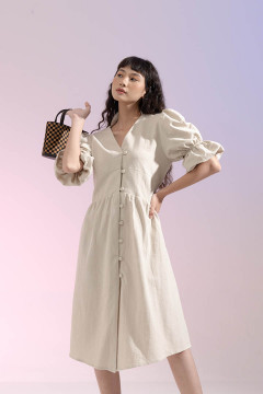 Bone Antalya Dress