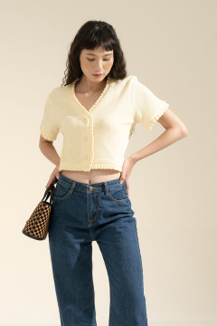 Canary Belle Top