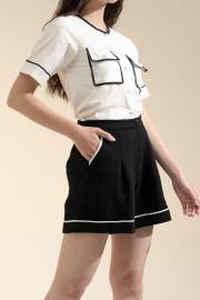 Black Calandra Shorts