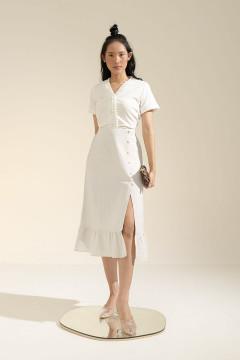 White Elena Skirt