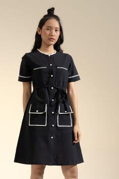 Black Victoria Dress