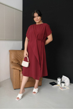 Maroon Krystal Dress