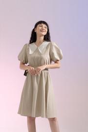 Khaky Castella Dress