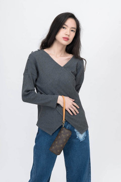 Steel Raven Knitted Top