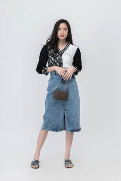 Mono Calla Knitted Top Outer