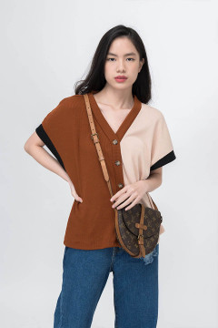 Coral Vero Knitted Top Outer