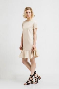 Creme Hanna Shift Dress