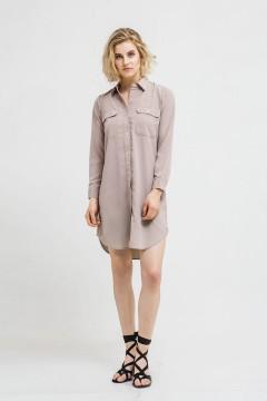Dacia Pocket Shirt Dress