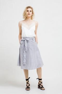 Stripes Keiko Midi Skirt