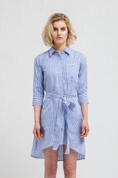 Blue Stripes Sora Dress