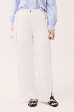 White Sachi Flared Pants