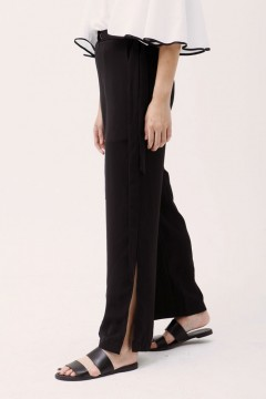 Black Sachi Flared Pants