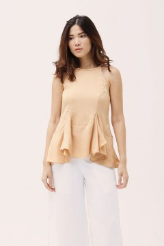 Maple Sato Peplum