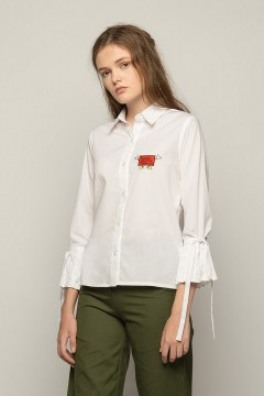 White Wufi Shirt