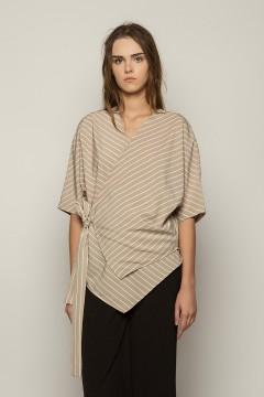 Grey Stripes Ume Kimono