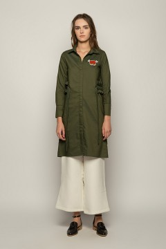 Army Hala Shirt Dress