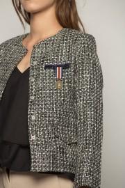 Tweed Hexa Blazer