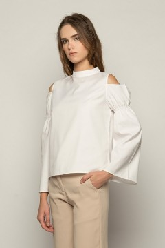 White Noia Blouse