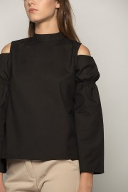 Black Noia Blouse