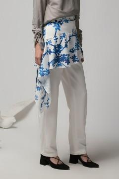 White Montu Apron Pants PO