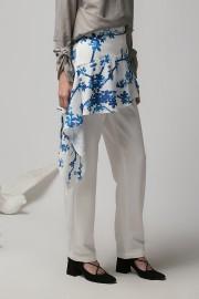 White Montu Apron Pants