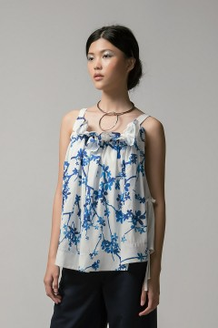 Pure Saine Ruffled Tank PO