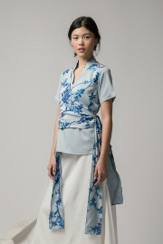 Artic Hara Wrapped Top