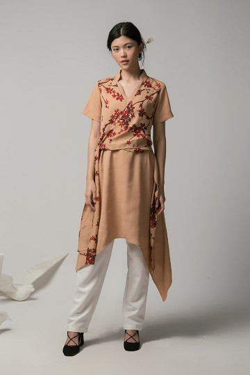 Malt Hanli Wrapped Dress
