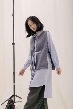 Denim Ruga Shirt Dress Set
