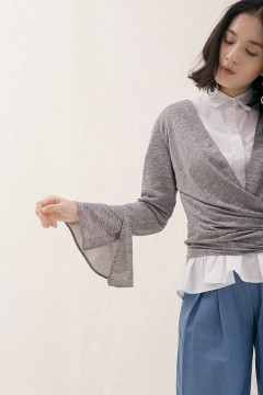 Grey Naja Top Outer