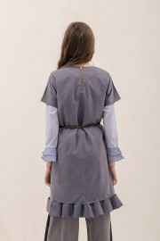 Denim Seismic Dress