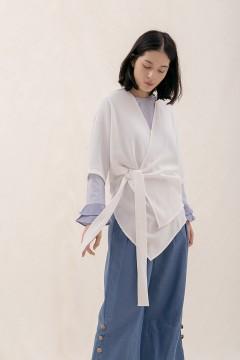 White Ume Kimono
