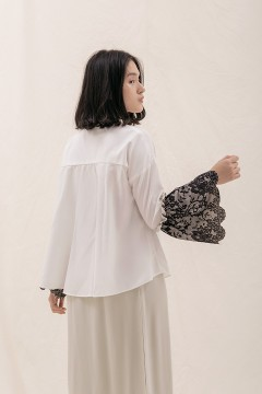 White Aora Shirt