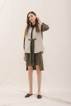 Forest Ruga Shirt Dress Set