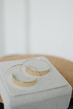 Diana Round Earrings