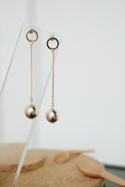 Gold Pina Earrings